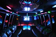 Limo Party Buses, Houston Party Bus, Limousine Coach